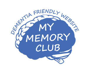 My Memory Club -Dementia Friendly Website -Free Activities for people with dementia